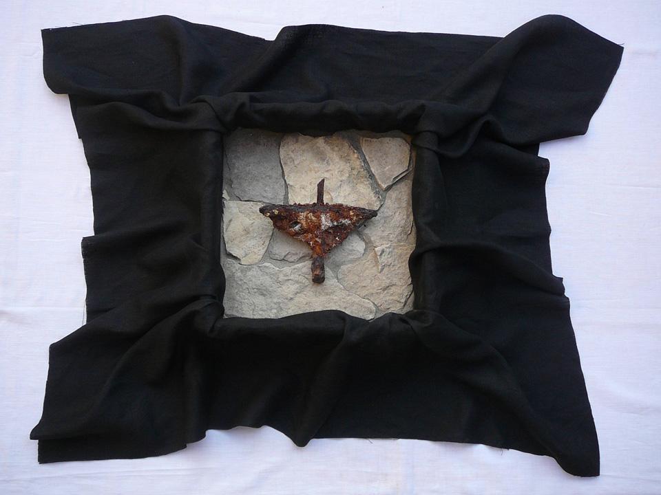 Die Grablegung des Kreuzes II, 2012